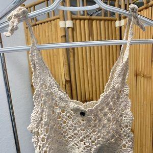 Billabong knit coverup top